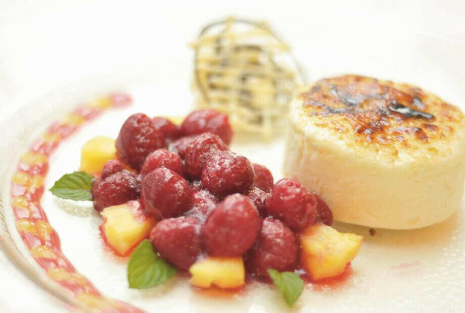 Dessert-Spezialitäten des Hauses