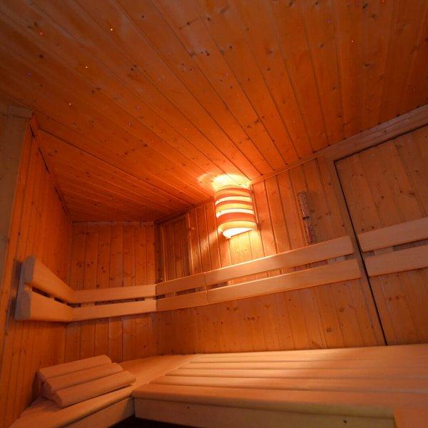 Finnische Sauna im Privat Spa