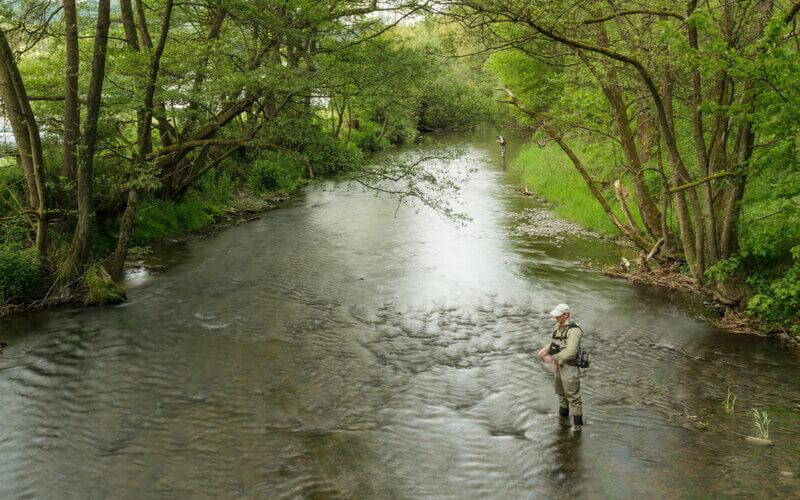 Fliegenfischen im Sauerland