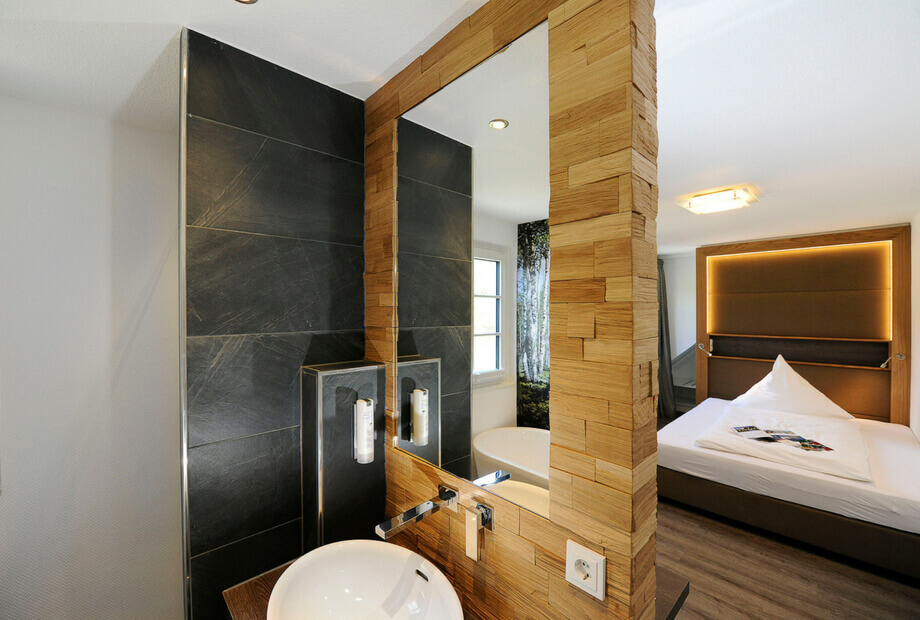 Gemütliches Hotelzimmer im Sauerland