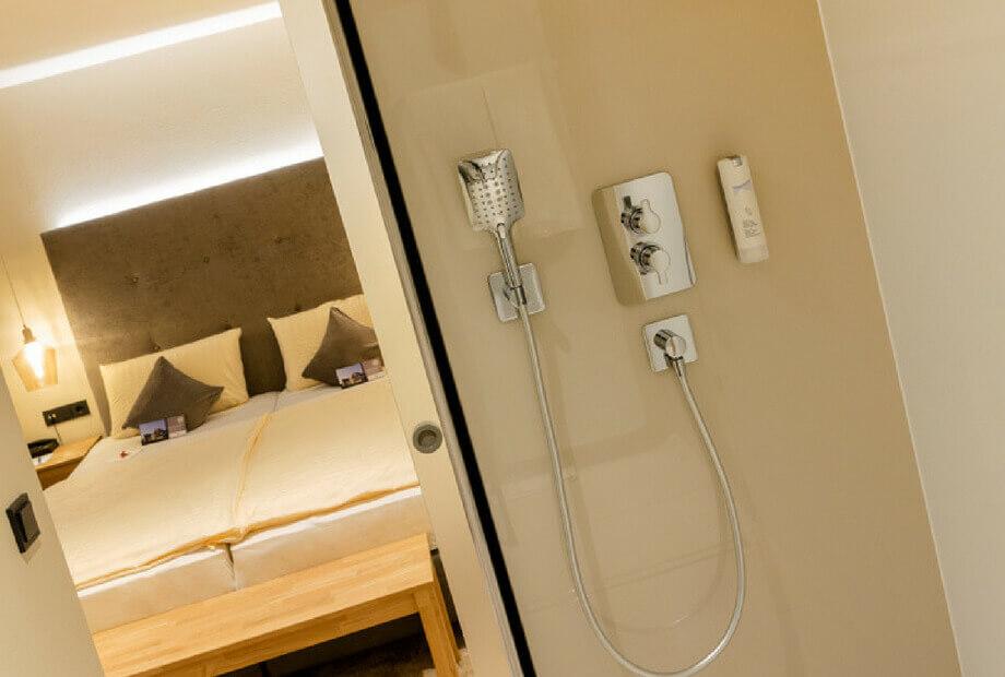 Standard Doppelzimmer mit Bad Haus Hochstein