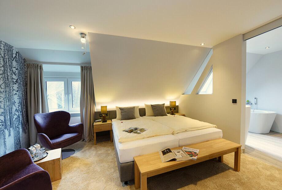 Urlaub im Sauerland - Doppelzimmer mit Badewanne