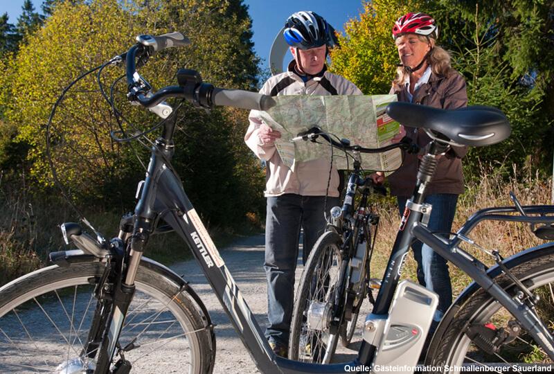 E-Biken im Sauerland