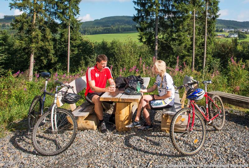 Ausrüstung und Zubehör für Ihre Radtour durch das Sauerland