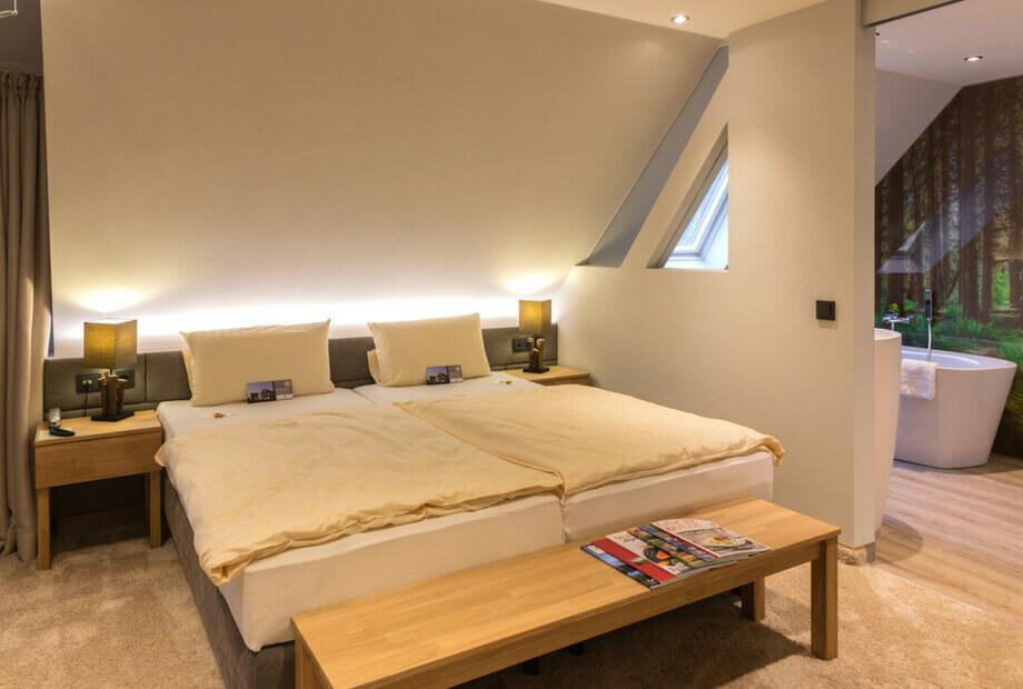 Gemütliches Hotelzimmer im Haus Hochstein im Sauerland