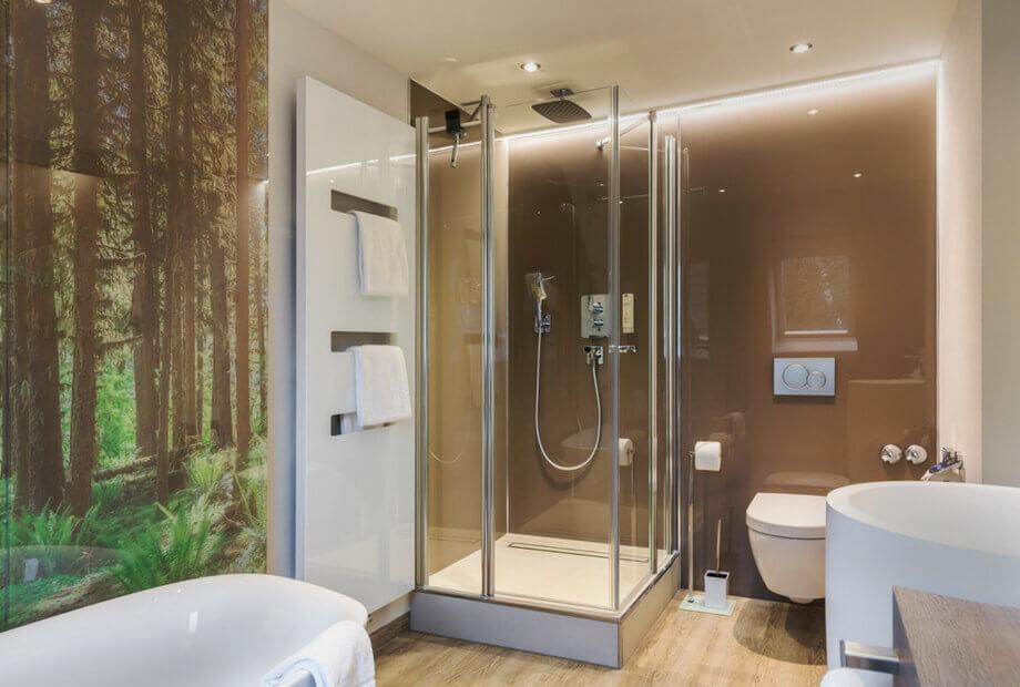 Premium Hotelzimmer im Sauerland mit Badewanne