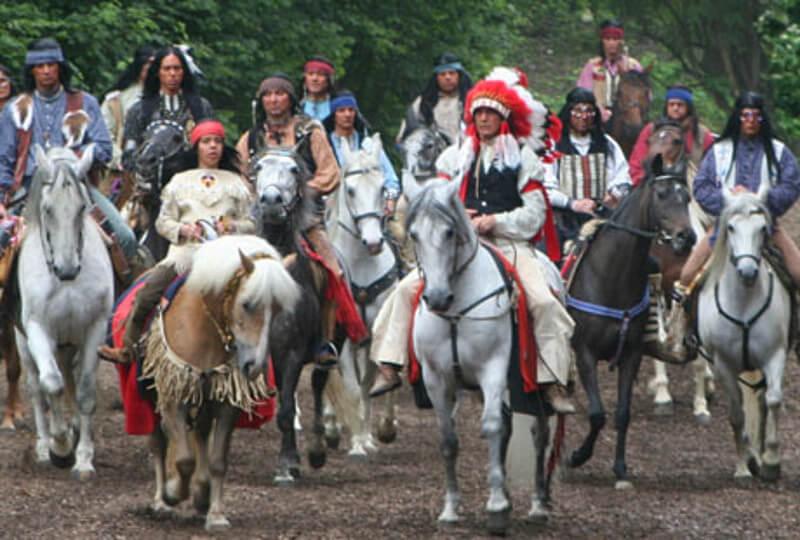 Die Karl-May-Festspiele in Elspe sind immer einen Besuch wert