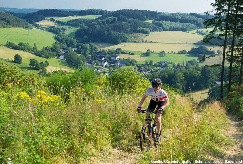 Mountainbike-Touren durch das Sauerland