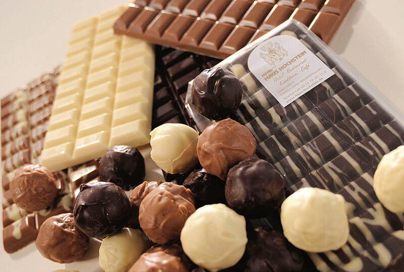 Geschenkideen aus dem Sauerland: Schokolade von Hochsteins