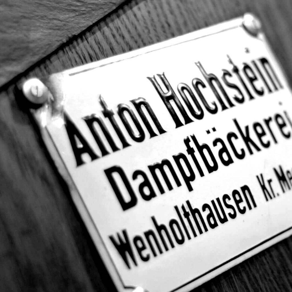 Anton Hochstein Dampfbäckerei Wenholthausen