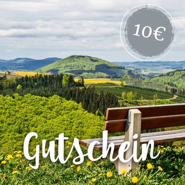 Wertgutschein 10 Euro - Hotel Haus Hochstein im Sauerland