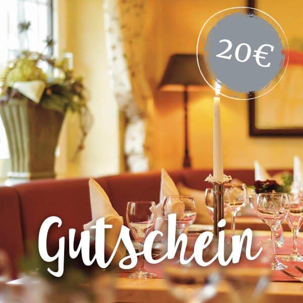 Wertgutschein 20 Euro - Hotel Haus Hochstein im Sauerland