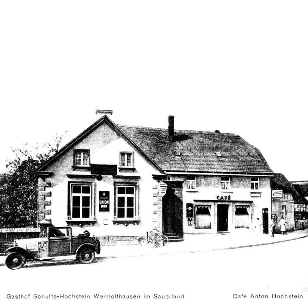 Gasthof Schulte-Hochstein Wenholthausen im Sauerland - Zeichnung