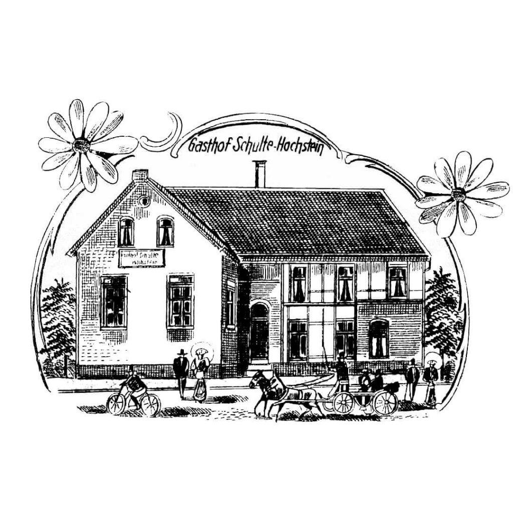 Gasthof Schulte-Hochstein - Zeichnung