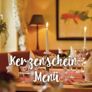 Gutschein für ein Kerzenschein-Menü im Sauerland